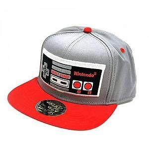 Nintendo - Casquette Snapback - Nes Controller Neo Look