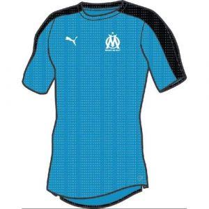 Puma Maillot Pré-Match Om Stadium Bleu/Noir