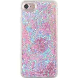 coque iphone 7 glitter liquide