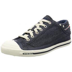 Diesel Magnete Exposure Low - Sneakers, Sneakers Basses homme, Bleu (T6067 Indigo), 42 EU