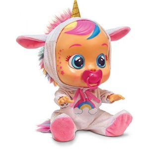 IMC Toys CRY BABIES Poupon qui pleure Fantaisie Licorne