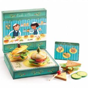 Djeco 06620 - Atelier sandwich Emile et Olive