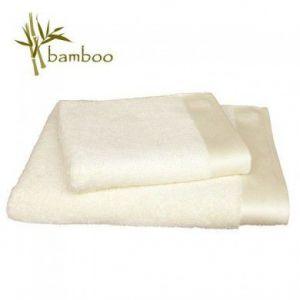 Santens Bamboo - Serviette de toilette coton/bambou (50 x 100 cm)