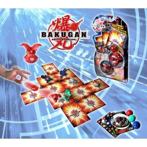 Spin Master Starter Pack Bakugan (figurine et carte)
