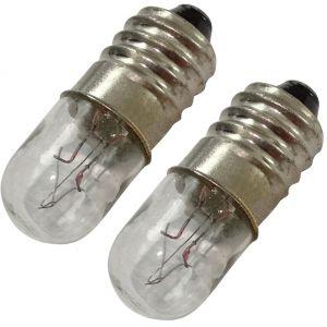 Aerzetix 2x ampoules E10 12V 4W