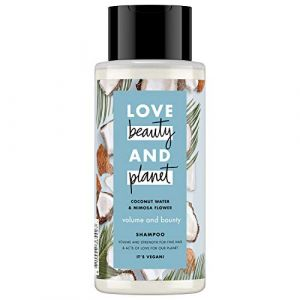 Love Beauty and Planet Shampoo volume and bounty