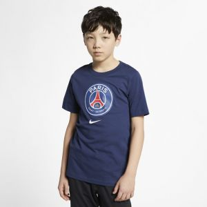 Nike Tee-shirt Paris Saint-Germain pour Enfant plus âgé - Bleu - Taille XL - Unisex