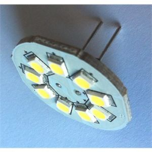 1 ampoule G4 9 Leds 120 Lumens sortie arrière BRILLE-LED