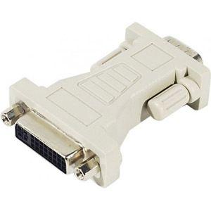 Dexlan 581460 - Adaptateur vidéo DVI femelle vers VGA mâle