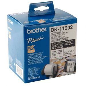 Brother DK-11202 - Étiquettes d'expédition (62 x 100 mm) 300 étiquettes