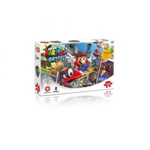 Winning Moves Puzzle 500 pièces Super Mario Odyssey World Traveler