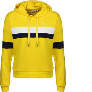 FILA Sweat-shirt Sweat capuche ELLA jaune - Taille EU S,EU M