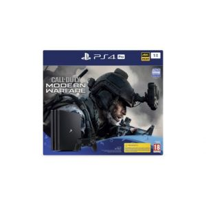 Sony PS4 Pro 1 To G + Call Of Duty Modern Warfare IV - noir