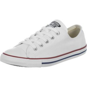 Converse Chuck Taylor CT Dainty Ox, Sneakers Basses Femme, Blanc (White 100), 37 EU