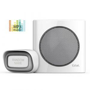 Extel Carillon à brancher sur prise - sonnette sans fil 200m diBi MP3