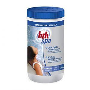 hth Spa choc sans chlore poudre - 1.2 kg