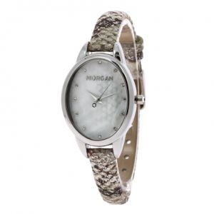 Morgan M1186 - Montre pour femme Quartz Analogique avec bracelet en cuir