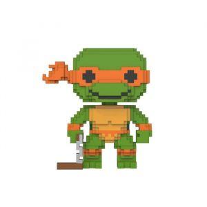 Funko Les Tortues Ninja 8-Bit Pop! Vinyl Figurine Michelangelo 9 Cm