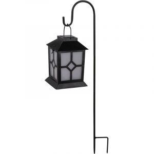 Globo Lampe solaire à LED avec effet de flamme, hauteur 70 cm, CAT