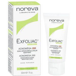 Noreva Exfoliac Acnoméga 200 - Soin kératorégulateur matifiant