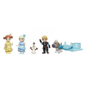 Hasbro Figurines La Reine des Neiges Disney Little Kingdom : Pack enfant