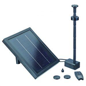 Oase Fontaine solaire télécommandée Pondo Solar 250 Control