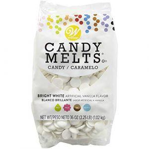 Wilton Candy melts blanc brillant 1kg