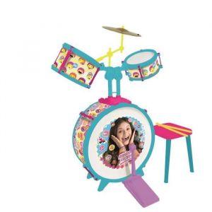 Reig Musicales Batterie Soy Luna (Grosse caisse, deux tambours, bongo et cymable)