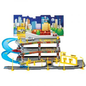 Garage Voiture Enfant 57 cm Multicolore 57 cm