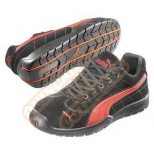 Puma Silverstone Low Chaussures de sécurité Noir, PU63043