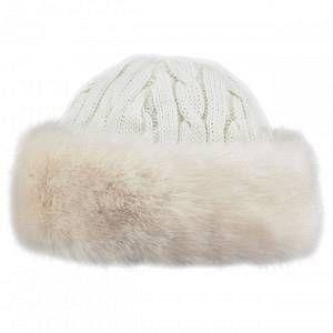 Barts Bonnet Fur Cable Bandhat