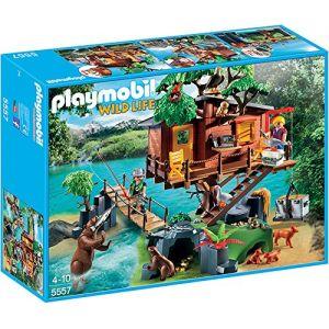 Playmobil 5557 Wild Life - Cabane des aventuriers dans les arbres