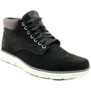 Timberland Bradstreet Leather Sensorflex, Bottes Chukka Homme, Noir (Black Nubuck), 43 EU