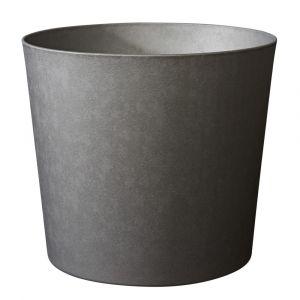 Poetic Pot Element conique coloris ardoise Ø 25 x H 24 cm