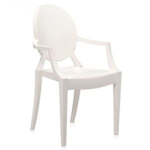 Kartell Louis Ghost - Chaise par Philippe Starck