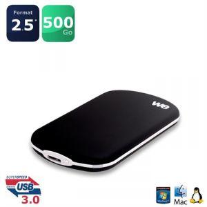 "WE V3 WE 500 Go - Disque dur externe 2.5"" SATA USB 3.0"