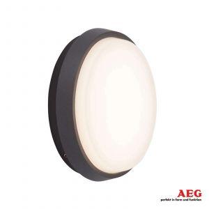 AEG Applique LETAN ROUND 1x9W Led Anthracite