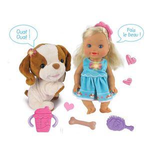 Vtech Little Love Lou joue avec son toutou