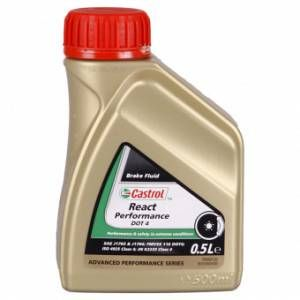 Castrol Liquide de frein REACT PERFORMANCE DOT 4 500 ML