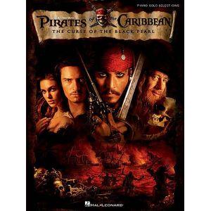 Hal Leonard Pirates of the Caribbean - Piano solo selections Piano solo selections (anglais)
