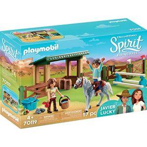 Playmobil Espace d'entrainement avec Lucky et Javier Spirit 70119