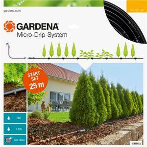 Gardena 13011-20 - Kit d'irrigation Micro-Drip system pour les haies 25m 13mm