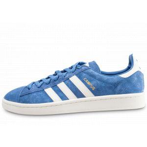 Adidas Campus Bleu Foncé Et Blanche Baskets/Tennis Homme