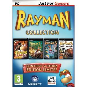 Rayman Collection : Rayman M + Rayman 2 + Rayman 3 + Rayman 3 Print Studio [PC]