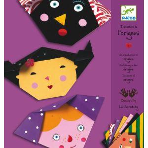 Djeco Initiation à l'origami : visages