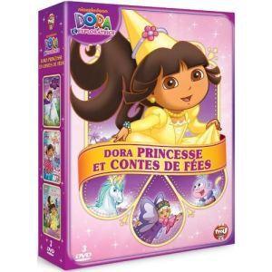 Coffret Dora l'exploratrice : Dora princesse et contes de fées