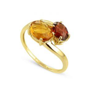 Rêve de diamants 3612030147418 - Bague en or jaune