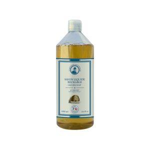 L'Artisan Savonnier Savon liquide miel bio recharge 1 L