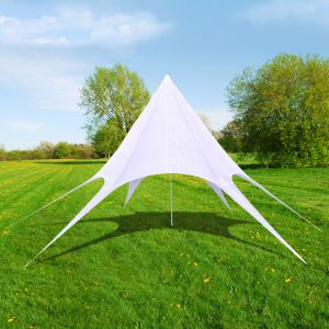 VidaXL 40706 - Tente de jardin en forme d'étoile 12 m