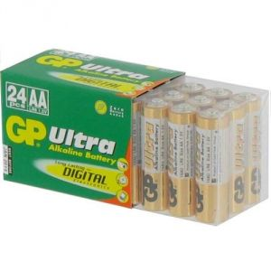 GP Batteries 24 piles alcalines AA Ultra LR6